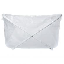 BiBaBad Flexi badekar 60-80 cm. - transparent
