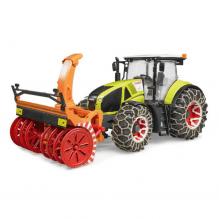 Bruder Claas Axion 950 traktor m. snekæder og -slynge - 3017