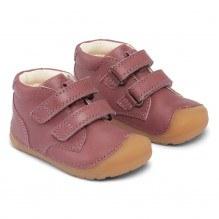 Bundgaard Petit Velcro sko - Dark Rose WS