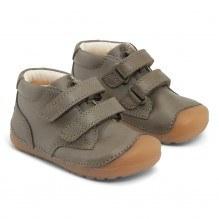 Bundgaard Petit Velcro sko – Army WS