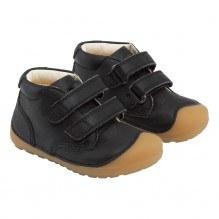Bundgaard Petit Velcro sko – Black/GUM