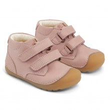 Bundgaard Petit Velcro sko – Old Rose WS