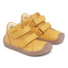 Bundgaard The Walk Velcro sko – Yellow WS
