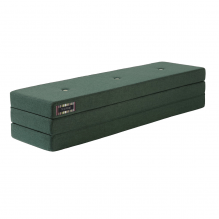 By KlipKlap 3 Fold madras - Mørkegrøn