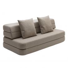 By KlipKlap 3 fold sofa XL - Beige