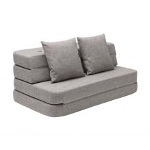 By KlipKlap 3 Fold Sofa XL - Lysegrå