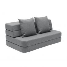 By KlipKlap 3 Fold sofa XL - Mørkegrå