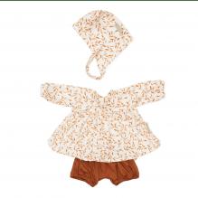 Cam Cam dukketøj – caramel leaves
