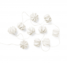 Cam Cam origami lyskæde – hvid