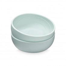 Cam Cam silikone skål 2-pak - Blue Mix