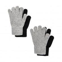 CeLaVi fingervanter i uld 2-pak - Grå