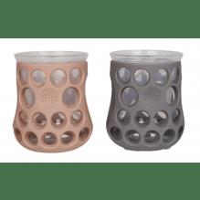 Cognikids Sip drikkekopper 2 stk – slate/blush