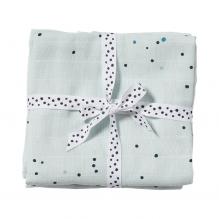 Done by Deer Dreamy Dots 2-pak babysvøb, blå