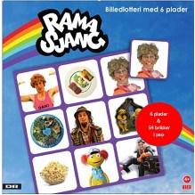 Krea Ramasjang billedlotteri - 6 plader