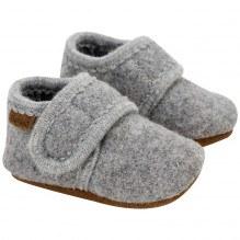 En Fant uld hjemmesko - Grey Melange