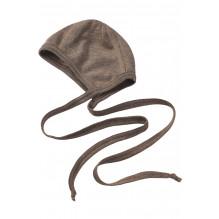 Engel babyhue i uld/silke - Walnut