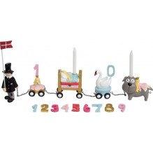 Kids by Friis fødselsdagstog, H.C. Andersen - Rosa