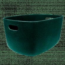 Tiny Republic filtkurv, XL - Mørkegrøn