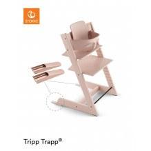 Tripp Trapp højstol + babysæt - serene pink