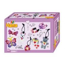 Hama Midi perler gaveæske - Small World smykker