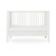 Cam Cam Harlequin babyseng - hvid