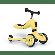 Scoot and Ride Highwaykick 1 løbehjul/løbecykel - lemon