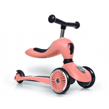 Scoot and Ride Highwaykick 1 løbehjul - peach
