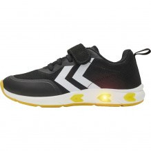 Hummel Flash Run JR blinke sneakers - Sort