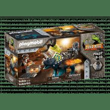 Playmobil Dinos Triceraptos: Rioting - 70627