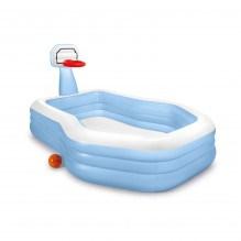Intex Pool med basketnet 682L