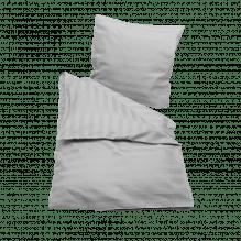 Soft Nordic jacquardvævet baby sengetøj 70x100 cm. – Lys Grå