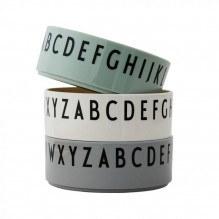 Design Letters skåle - Grønne