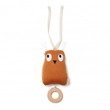 Kids Concept Spilledåse ugle - Rust