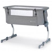 Kinderkraft Uno UP bedside crib / babyseng - Grå