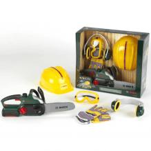 Klein Bosch arbejdssæt m. sikkerhedsbriller