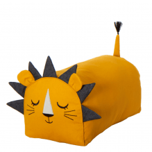 Roommate løve puf - gul