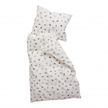 Leander babysengetøj forrest 70x100 cm - Cappuccino