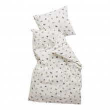 Leander Babysengetøj Forrest 70x100 cm, Dusty Rose