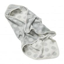 Leander økologisk hoodie - Cool grey
