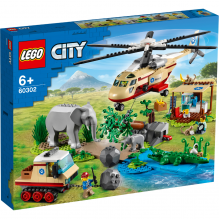 LEGO City Wildlife Vildtredningsaktion - 60302