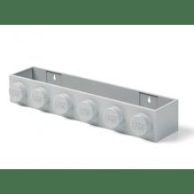 LEGO opbevaringshylde - grå