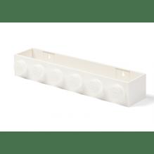 LEGO opbevaringshylde - hvid