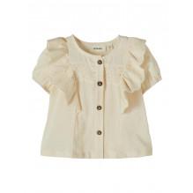 Lil'Atelier Solange skjorte - Turtledove