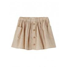 Lil'Atelier Solva nederdel – Tobacco Brown