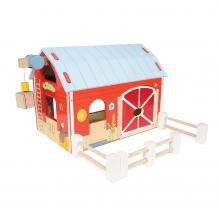 Le Toy Van Bondegård - Rød