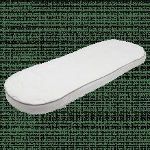 Soft Nordic Floating Cloud madras til barnevogn 36x96 cm. – Hvid