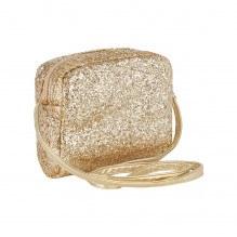 Mimi & Lula skuldertaske - Guld glitter