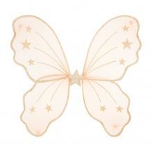 Mimi & Lula vinger med stjerner - Pink