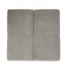 MISIOO firkantet legemadras - grå