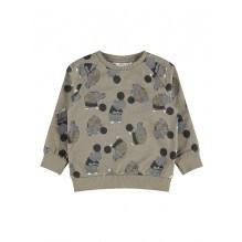 Name It Nasonny sweatshirt - Stone Gray